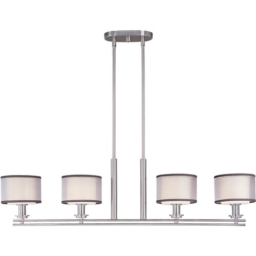 Wildon Home ® Southstream 4 - Light Island Pendant