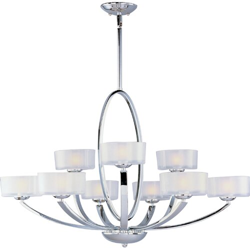 Wildon Home ® Trophic 9 - Light Multi - Tier Chandelier