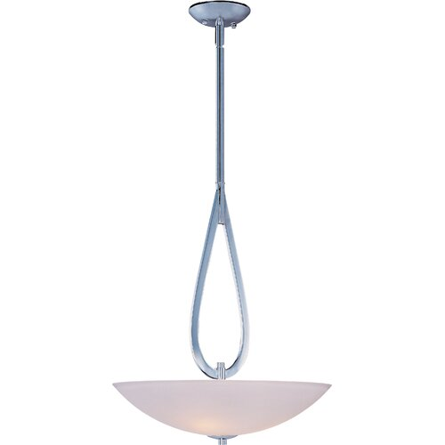 Wildon Home ® Martyno 3 - Light Invert Bowl Pendant