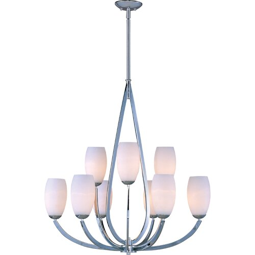 Wildon Home ® Martyno 9 - Light Multi - Tier Chandelier