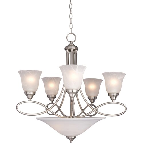 Zelo 7 - Light Multi - Tier Chandelier