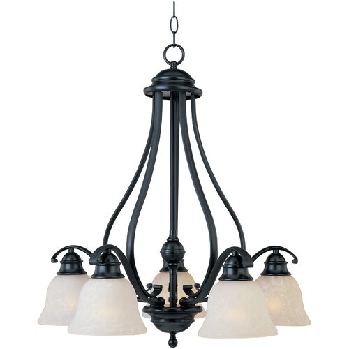Wildon Home ® Rytmo 5 - Light Down Light Chandelier