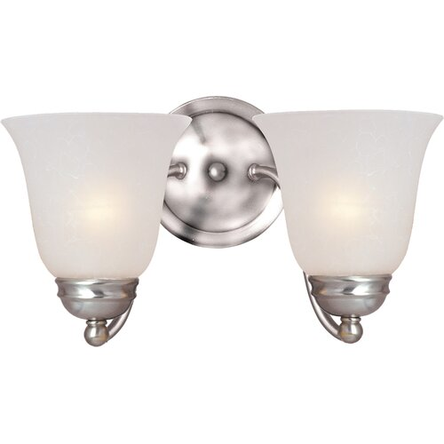 Maxim Lighting Basix 2 Light Vanity Light