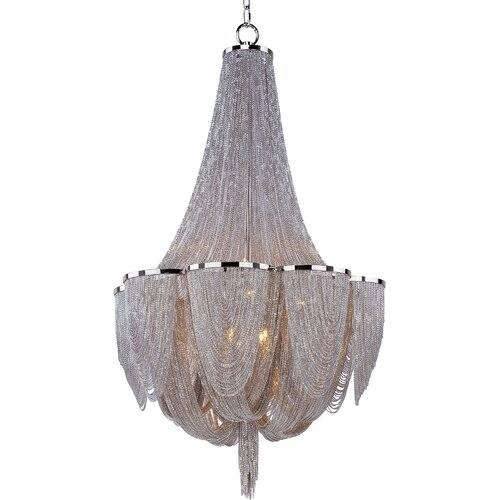 Maxim Lighting Chantilly 10 Light Chandelier