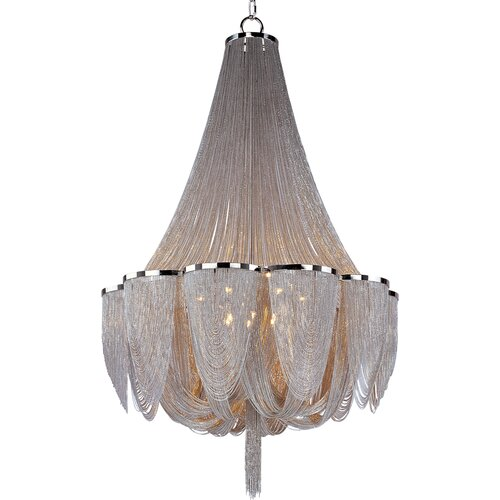 Comsan 14 - Light Multi - Tier Chandelier