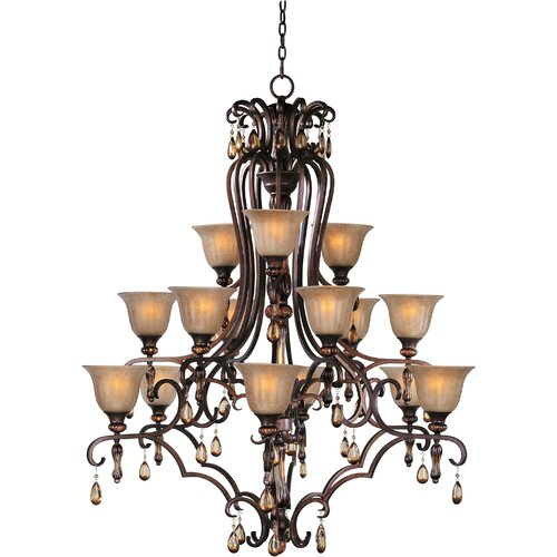 Wildon Home ® Leiy 15 - Light Multi - Tier Chandelier