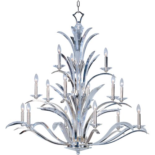 Wildon Home ® Vyal 15 - Light Multi - Tier Chandelier