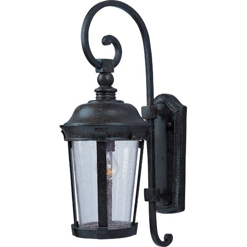 Wildon Home ® Largu 1 - Light Outdoor Wall Mount