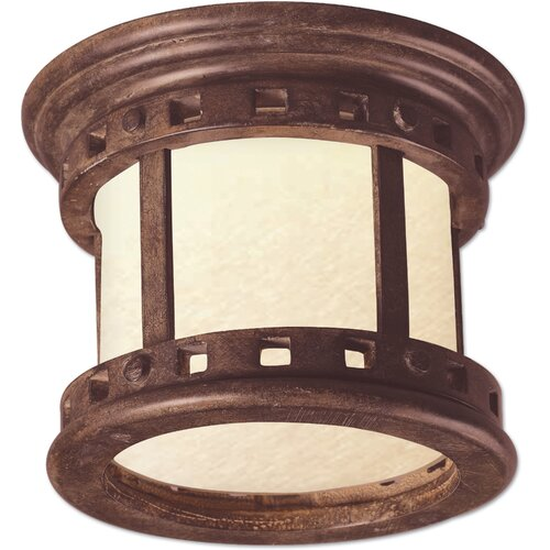 Maxim Lighting Santa Barbara ES 1 Light Outdoor Flush Mount