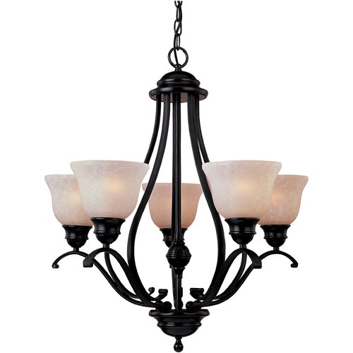 Wildon Home ® Sandorini 5 - Light Single - Tier Chandelier