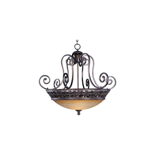 Wildon Home ® Tra 4 - Light Invert Bowl Pendant