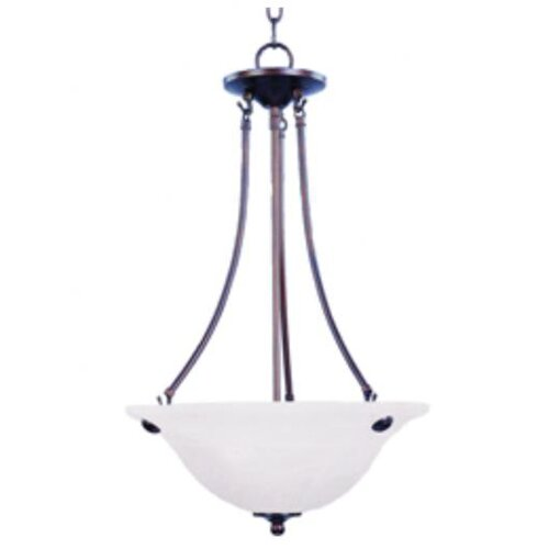 Wildon Home ® Tacet 3 - Light Invert Bowl Pendant
