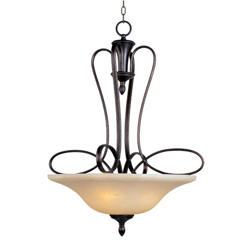 Wildon Home ® Potpurri 3 - Light Invert Bowl Pendant