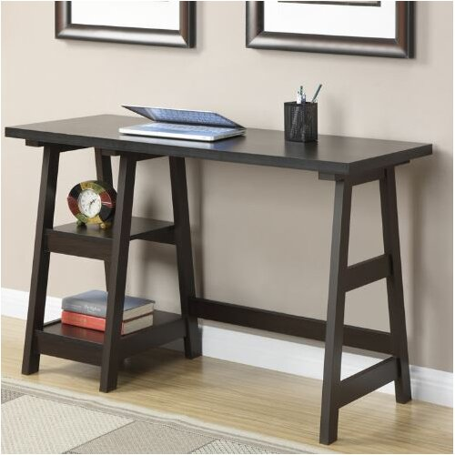 Convenience Concepts Trestle Writing Desk