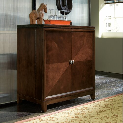 Tribecca Flip Top Bar Cabinet