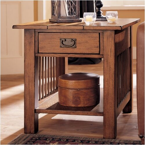 Hammary Canyon End Table