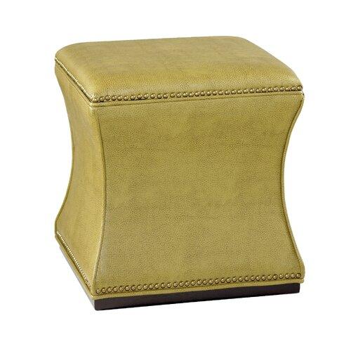Hammary Hidden Treasures Leather Storage Ottoman