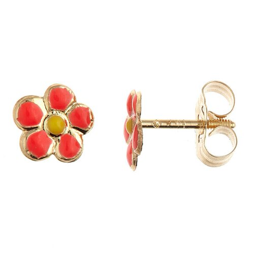 Children's Flower Stud Earrings