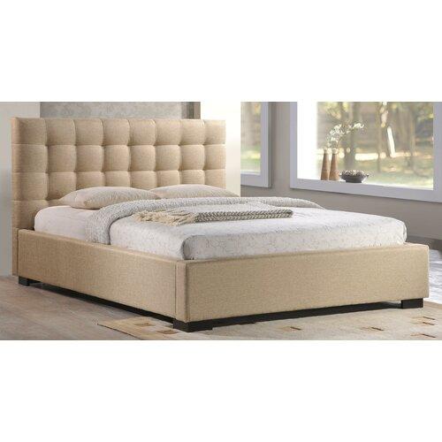 Crescent Platform Bed