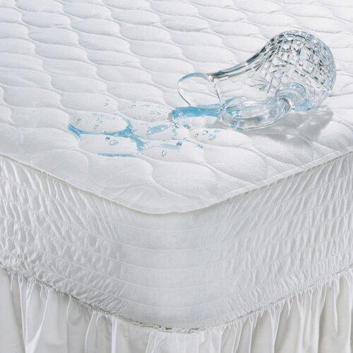 100% Polyester Waterproof Mattress Pad