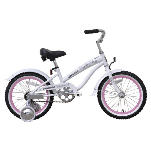 "Beachbikes Girl's 16"" Mini Bella Beach Cruiser Bicycle"
