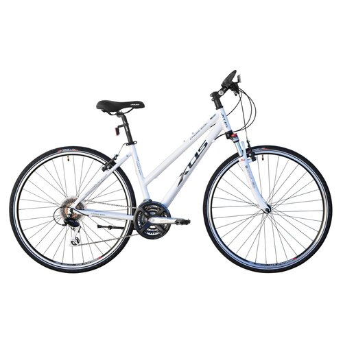 Beachbikes Women's Cross 300 24-Speed Hybrid Bike