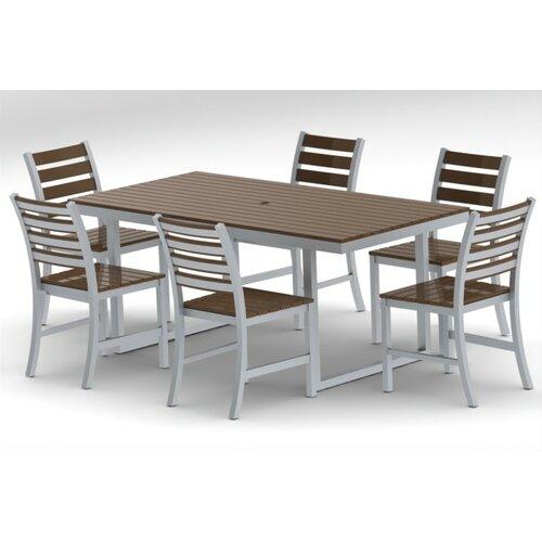Elan Furniture Kinzie 7 Piece Dining Set