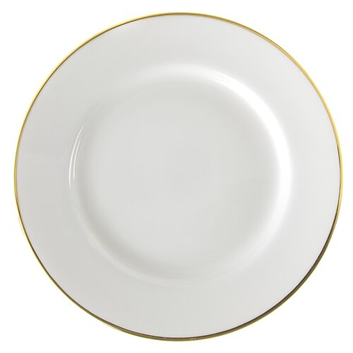"Ten Strawberry Street Gold Line 6"" Bread and Butter Plate"
