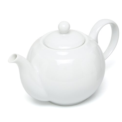 Ten Strawberry Street Royal White 1.25-qt. Teapot