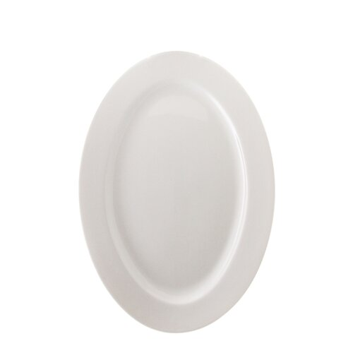 "Ten Strawberry Street Bistro 12"" Oval Plate"
