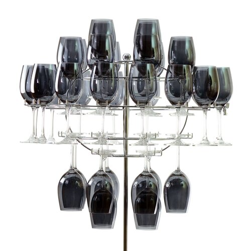 Chandelier Tabletop Wine Glass Rack