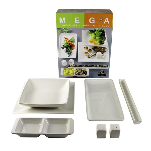 Mega Accessory 7 Piece Place Setting