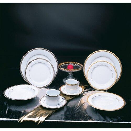 "Ten Strawberry Street Athens 10.625"" Dinner Plate"