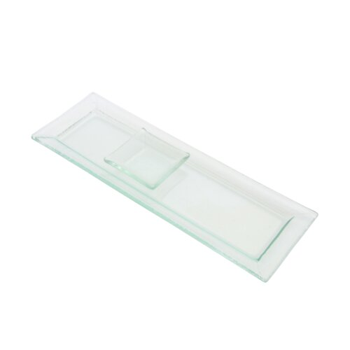 Ten Strawberry Street Sheer Sauce Square Serving Dish