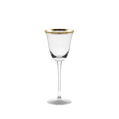 Ten Strawberry Street Windsor White Wine Glass with Band