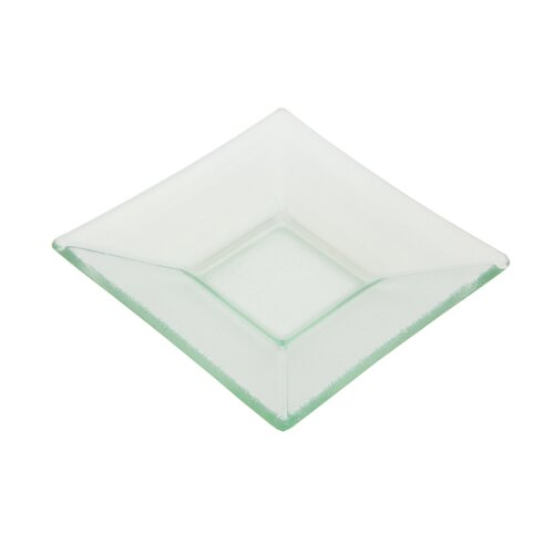 Ten Strawberry Street Sheer Clear Square Platter