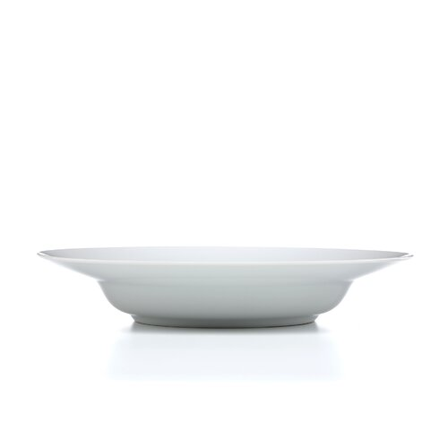 "Ten Strawberry Street Royal White 12"" Soup Bowl"