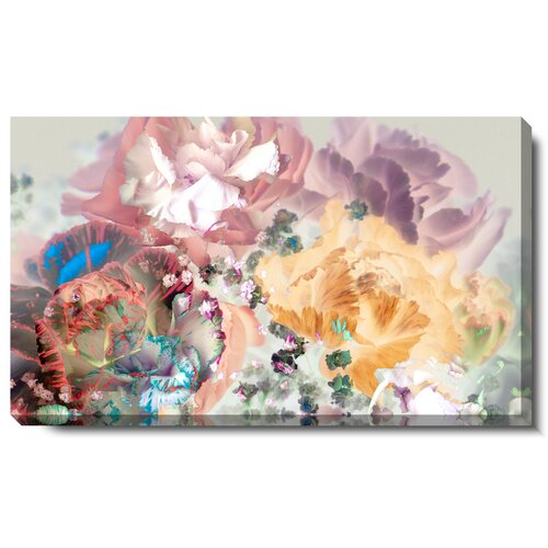 Pastel Scented Bloom Gallery Wrapped by Zhee Singer Graphic Art on Canvas