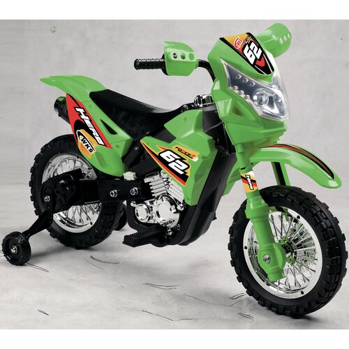 Vroom Rider Boy's Vroom Rider VR093 Battery Operated 6V Kids Dirt Bike