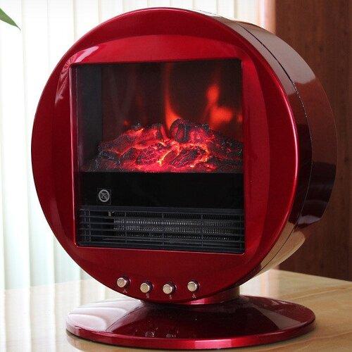 Himalayan Heat Circular 2000 W Electric Fireplace