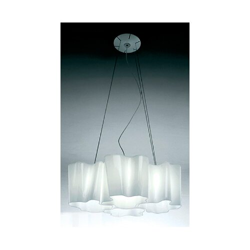 Artemide Logico 4 Light Quadruple Nested Suspension with 4x18W Fluorescent Bulbs