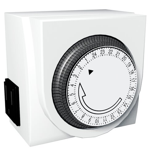 Stanley Electrical 2 Outlet Mechanical Timer