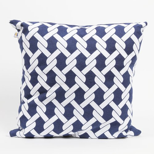 Latitude 38 Nautical Rope Cotton Pillow