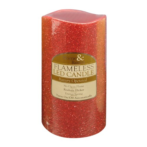 Brite Star Flameless Glitter LED Candle