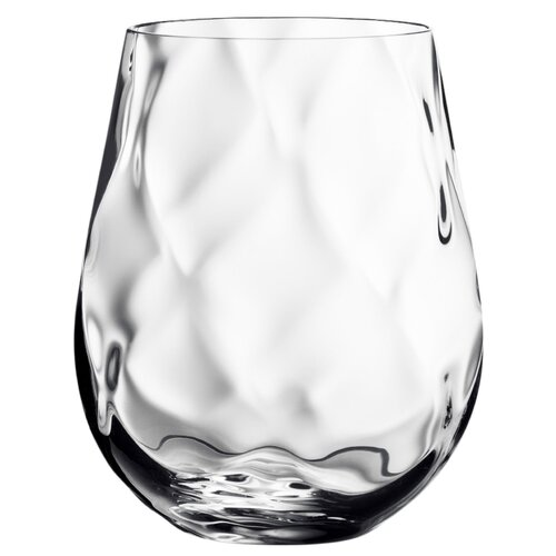 Orrefors Dizzy Diamond Stemless Wine Glass