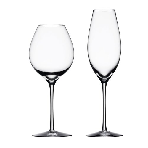 Orrefors Difference White Wine Glass