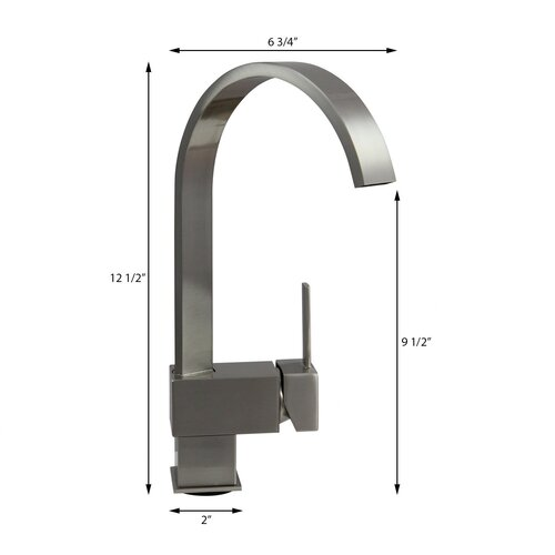 Dyconn Faucet Contemporary Kitchen / Bathroom Faucet