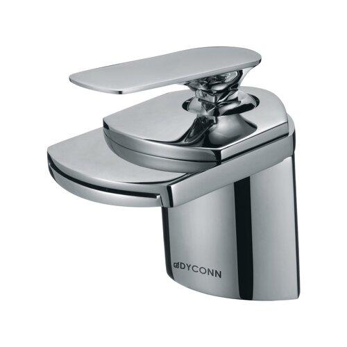 Dyconn Faucet Crystal Single Handle Waterfall Bathroom Sink Faucet
