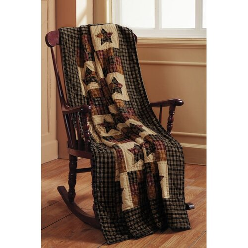 IHF Home Decor Cambridge Star Cotton Quilted Throw