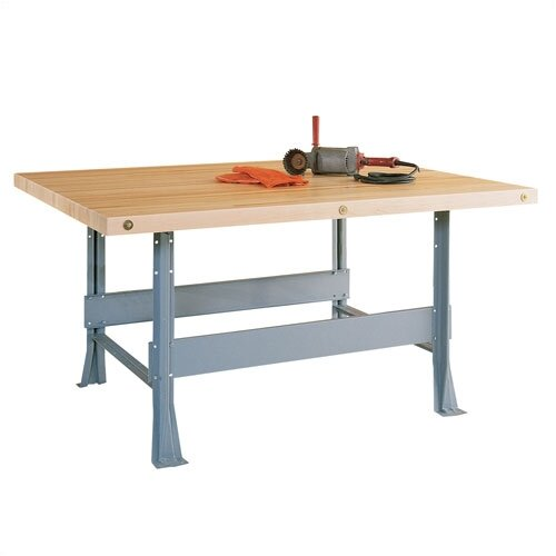 Shain Four Station Maple Top Workbench